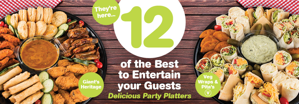 GIANT 12 OF THE BEST PLATTERS 2018