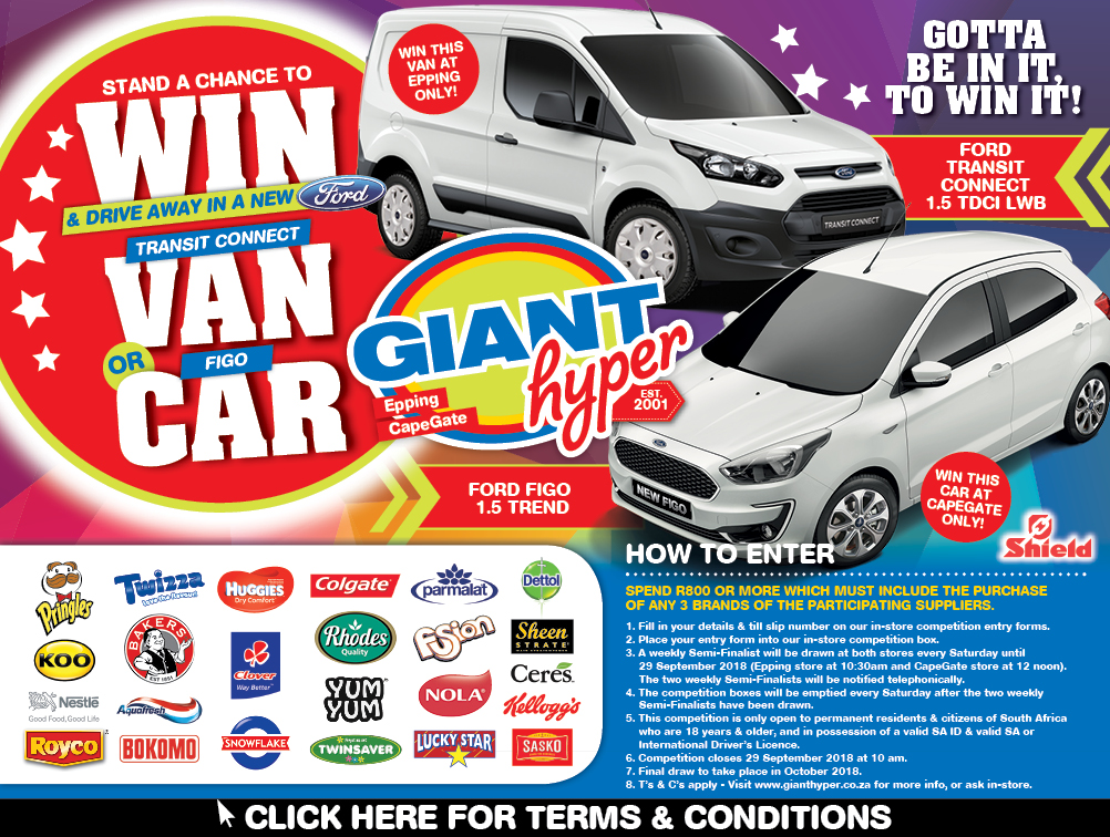 Win A Car: GIANT WIN A CAR COMPETITION FINAL