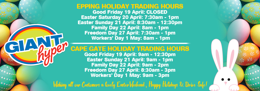 GIANT EASTER TRADING HOURS WEB BANNER APRIL 2019