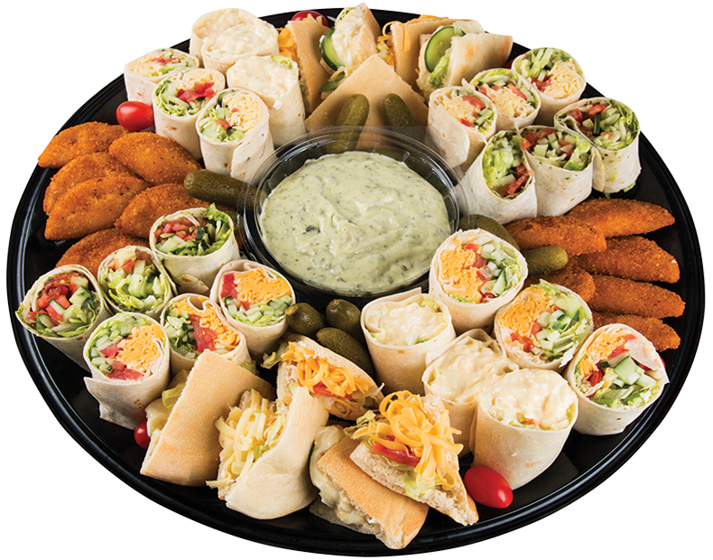 Giant Food Store Platters